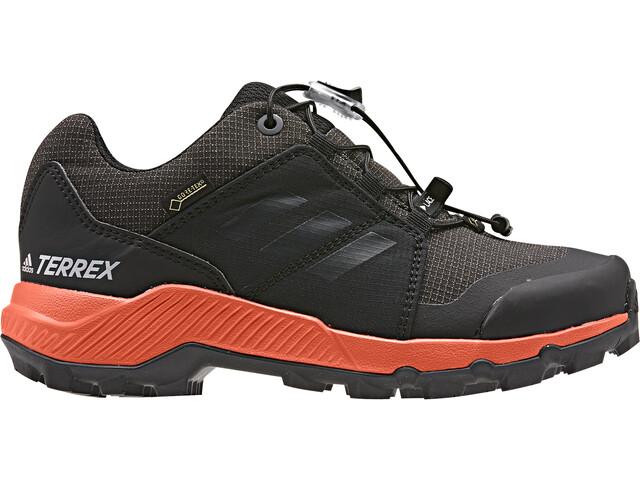 adidas TERREX GTX - Calzado Niños - gris/negro